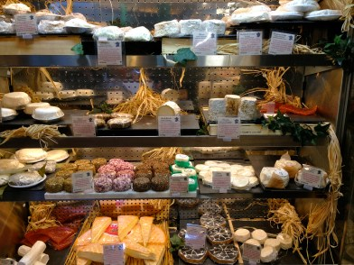 Lots of Yummy Cheeses.