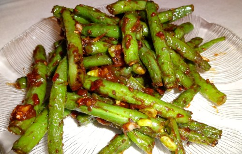 Spicy Chinese Long Beans (7/10).