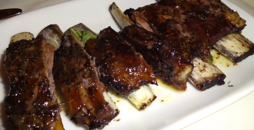 Arnisia Plevrakia : Grilled Lamb Riblets with Lemon and Oregano (7.5/10).