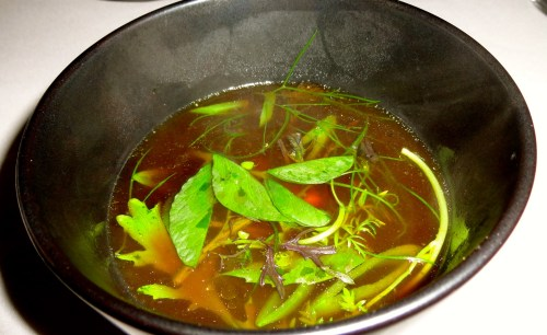 Four Types of Chicken Broth