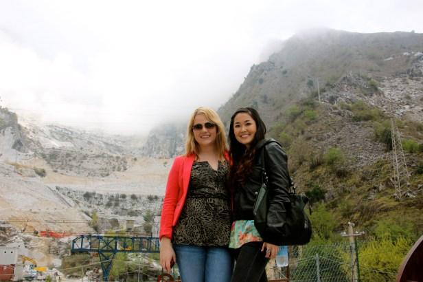 Mountains of Carrara.