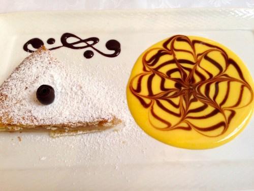 Pear and Cinnamon Cake.