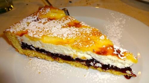 Torta di Ricotta e Amarena: Ricotta Cake with Amarena Cherries (7/10).