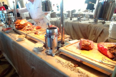 Meat Carving Station.