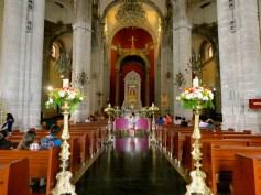 Inside the Old Basilica.