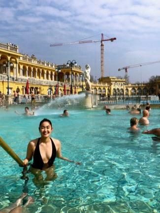 Széchenyi Thermal Baths.