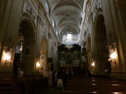 Inside Skałka & the Pauline Monastery.