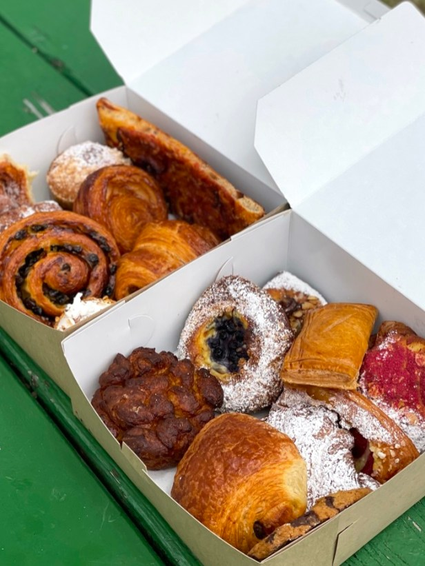 Pastries from Neighbor Bakehouse, Arsicault Bakery, and Jane the Bakery.