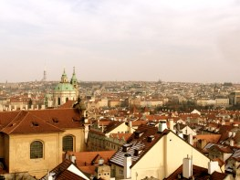 View of Prague.