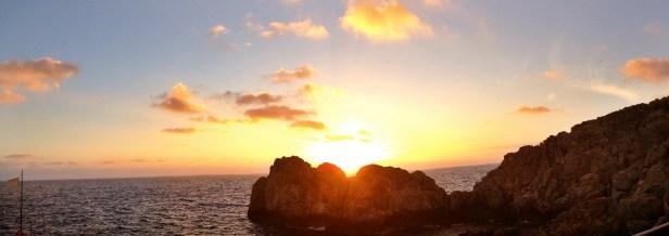 Sunset in Anacapri.
