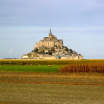 Mont Saint-Michel.