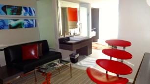 Hard Rock Hotel Room.