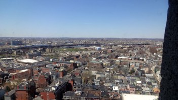 View from Bunker Hill Monument.