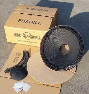 "B&C 18TBX46 8 Ohm Recone Kit For 18"" 2000W Speaker Subwoofer"
