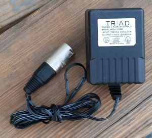 New TRIAD 15V Neutrik 4 Pin XLR Power Supply WDU15-1000
