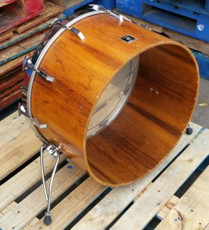 Sonor Vintage 70s Phonic 24×14 Bass Drum Rosewood Germany