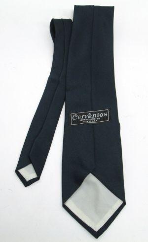 Vintage Mens LA Dodgers 1978 Champions Cervantes 100% Polyester Navy Blue Tie