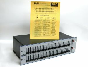 ARX EQ 60 Dual Channel Graphic Equalizer EQ60 #3636