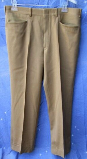 Carroll & Co Suit Pants Slacks Trousers Dress Pants Brown #82  Wool Fully Lined