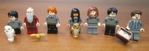 Lego Minifigures Harry Potter Fantastic Beasts Albus Dumbledore Chang Granger