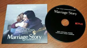 MARRIAGE STORY Best Original Score SOUNDTRACK CD For Your Consideration FYC