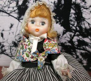 "Madame Alexander 8"" Great Britain International Series Doll 558"
