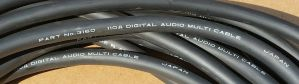 Mogami 3160 2 Channel Digital Audio Snake Cable 110ohm  40ft