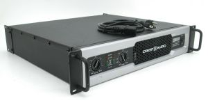 Rackmountable Crest Audio CD2000 CD-2000 2000 Watt Pro Power Amplifier Amp #3