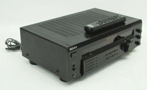 SONY STR-DE135 FM Stereo AM/FM A/V Stereo Sound Receiver + Remote Bundle