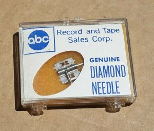 Vintage NOS ABC Record Genuine Diamond Needle for Telefunken T20-2 PS-21