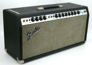 1970 Silver Face Fender DUAL SHOWMAN REVERB Tube Amp Head