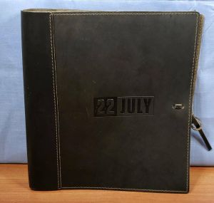 22 JULY Film Movie Leather Bound Binder Screenplay FYC Promo SIGNED Script Book