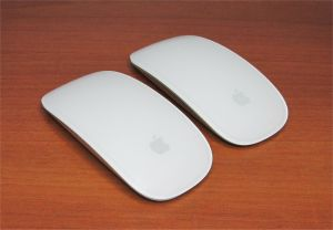 Apple Bluetooth Wireless Laser Magic Mouse A1296 Silver
