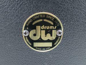 DW Drum Workshop Santa Monica Trap Case Throne Seat Adjustable Black Tolex