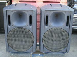 PAIR of Panasonic Ramsa Speaker Monitors Model WS-AT300 2 Way #2