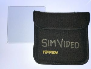 TIFFEN 4×4 BLACK PRO MIST 1 Glass Square Camera Filter