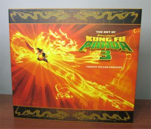 Dreamworks The Art of Kung Fu Panda 3 and Home Hardcover Books