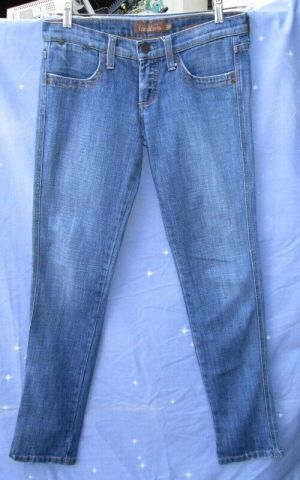 Frankie B. Woman's Skinny Jeans Studded Butt Pocket Denim Size 28