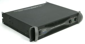 QSC PLX-1602 Pro Power Amplifier 300-WATTS/CH @ 8 OHMS + Box & Manual