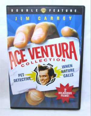 Ace Ventura Deluxe Double Feature DVD 2009 Pet Detective When Nature Calls
