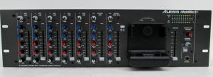 Alesis iMultiMix 9R 9 Channel Rackmount Mixer w/ Universal Dock For iPod