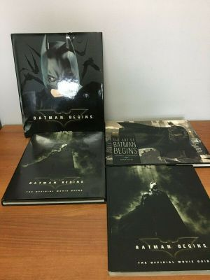 Batman Begins & Dark Knight Assortment of 4 Books