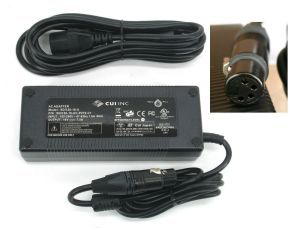 CUI Inc AC Adapter 16V/DC 7.5A 120W 4-PIN Female XLR Power Supply SDI120-16-U