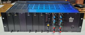 DBX 900 Series Rack F-900A with Cards 902 905