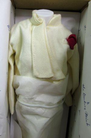 Danbury Mint The Princess Diana Royal Wardrobe 773005 Tailored Off-White Suit