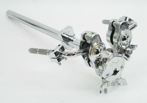 "Drum Workshop DW DWSM992 V-Clamp Double Ball type 1/2"" L-Arm Tom Drum Post Arm"