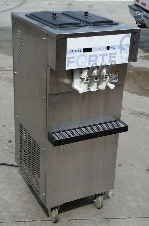 Forte SS100 Soft Serve Ice Cream Frozen Yogurt Machine