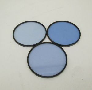 LOT OF 3 TIFFEN 4 1/2  82A, 82B, 82C CAMERA GLASS FILTER