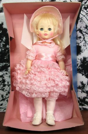 "Madame Alexander Renior 1578 14"" Inch Doll Pink Ruffle Dress w/ Box & Tag"