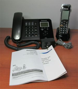 Panasonic KX-TGP551 PNLC1007SA T04 SIP Cordless Phone Telephone Base